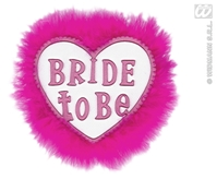 Bride To Be Brooches White