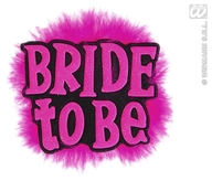 Bride To Be Brooches Black