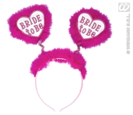 Bride To Be Head Boppers White