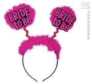 Bride To Be Head Boppers Black