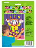 Pin The Nose On Clown Game
