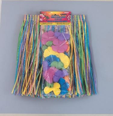 Child Luau Skirt & Lei Set