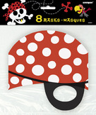 Pirate Eyemasks Card
