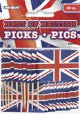 Union Jack Sandwich Flags Picks