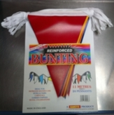 Bunting Multi Colour 11mt Reinforced Plastic