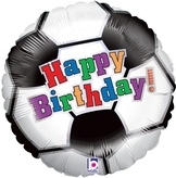 Football Birthday Foil Balloon