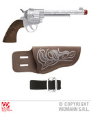 Cowboy Gun With Holster And Belt