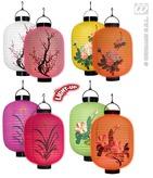 Led Light Lanterns Oriental 4cols 20cm