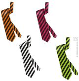 Neon Striped Necktie