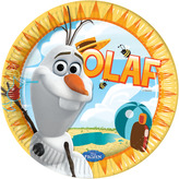 Disney Frozen Olaf Plates 23cm