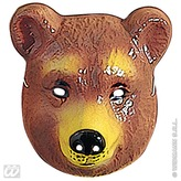 Bear Mask Plastic