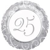 25th Anniversary Foil Balloon