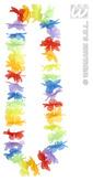 Rainbow Coloured Hawaiian Lei