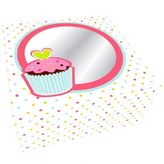Sweet Treats Cupcake Box Holds 4