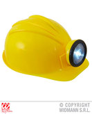 Construction Helmet With Headlamp