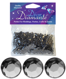 Diamante Decor Diamonds Black Quartz