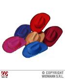 Cowboy Hat Sequin Decor Fashion