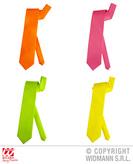 Neon  Necktie Asst