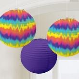 60s Groovy Paper Lanterns 24cm