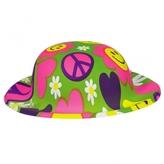 60s Groovy Plastic Mini Hat