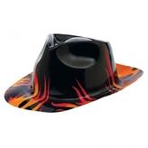 50s Classic Flames Fedora Hat