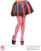 Neon Disco Tutu W/Multi Satin Ribbons