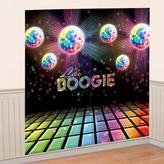 70s Disco Fever Scene Setter Decorating Kit