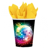 70s Disco Fever Paper Cups