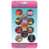 50s Classic Button Badges