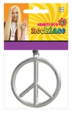 60s Groovy Peace Medallion