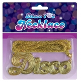 70s Disco Fever Disco Necklace