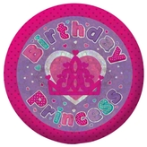 Birthday Princess Badge Small