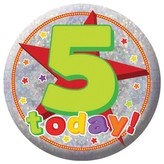 5 Today Badge Small