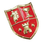 Shield Medieval Red