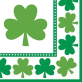 Lucky Shamrocks Lunch Napkins