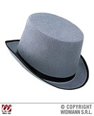 Big Felt Topper Hat Grey