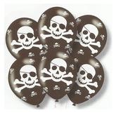 Latex Balloons Prate Skull Print