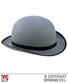 Big Bowler Felt Hat Grey