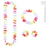 Multicoloured Hawaiian Lei Set