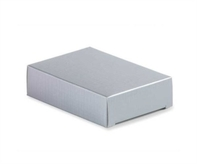 Silver Embossed Cake Boxes