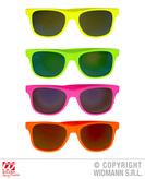 80s Glasses With Revo Lenses 4 Col Asst