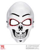 Dia De Los Muertos Half Mask