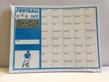 Football Fundraiser Scratch Cards