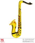 Inflatable Saxophone   Yellow