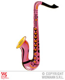 Inflatable Saxophone   Pink