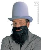Beard With Moustache 2 Colours
