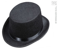 Black Top Hat Felt Child Size