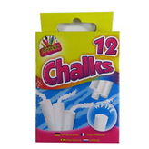 White Chalk 12 Stick Hang Pack