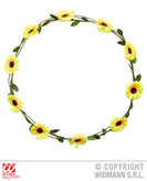 Flower Headband Yellow Flower Adjustable
