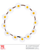 Flower Headband White Daisies